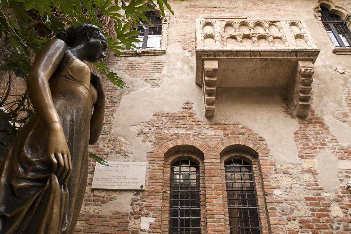 il balcone di Giulietta e Romeo