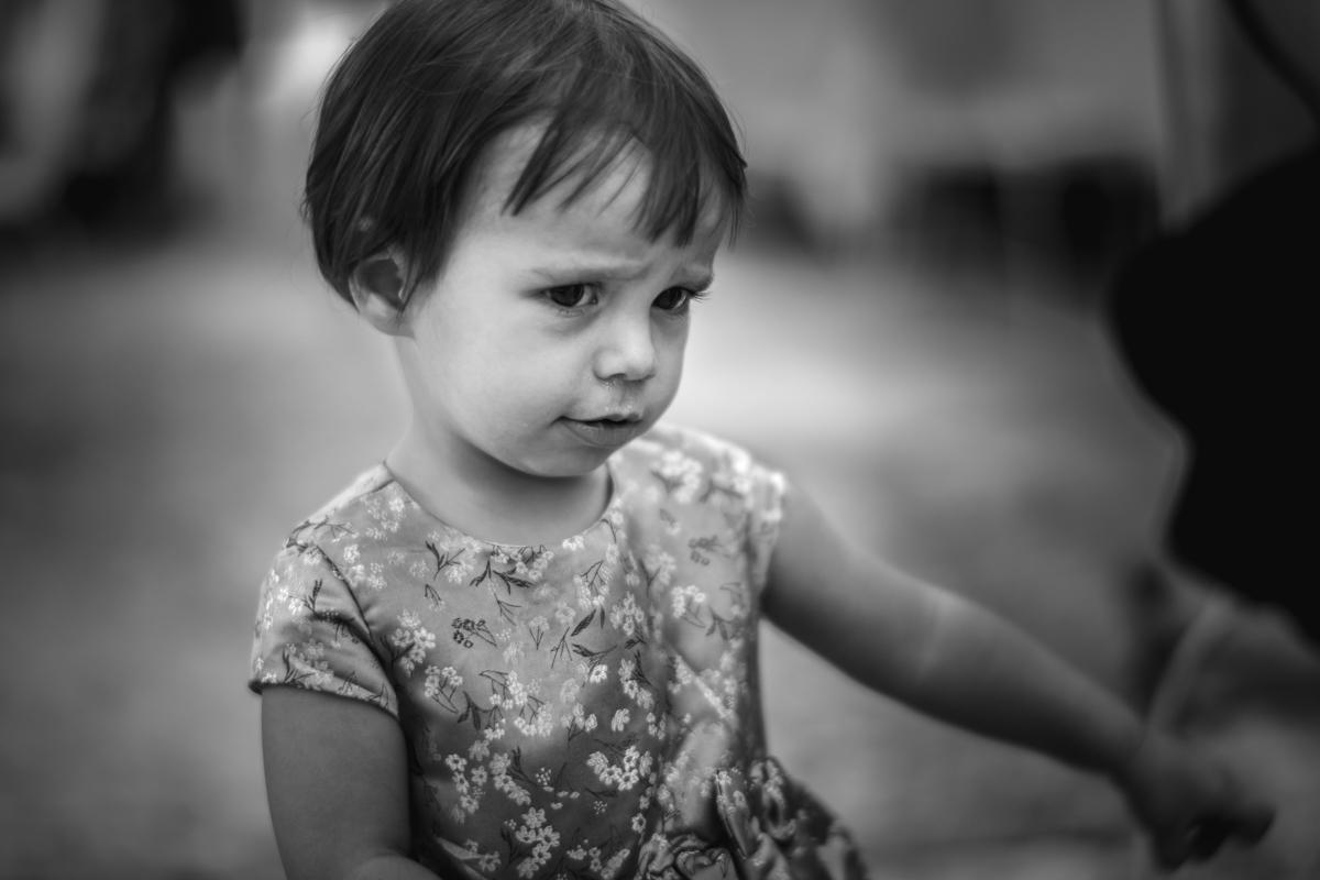 espressione di una bambina